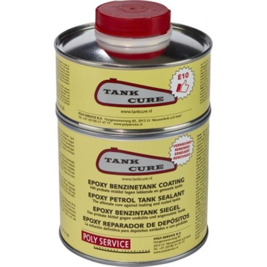 Tank cure coating set-1