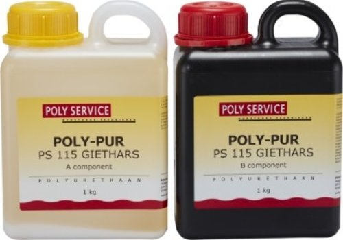 Polyservice PS115 PU GIETHARS set