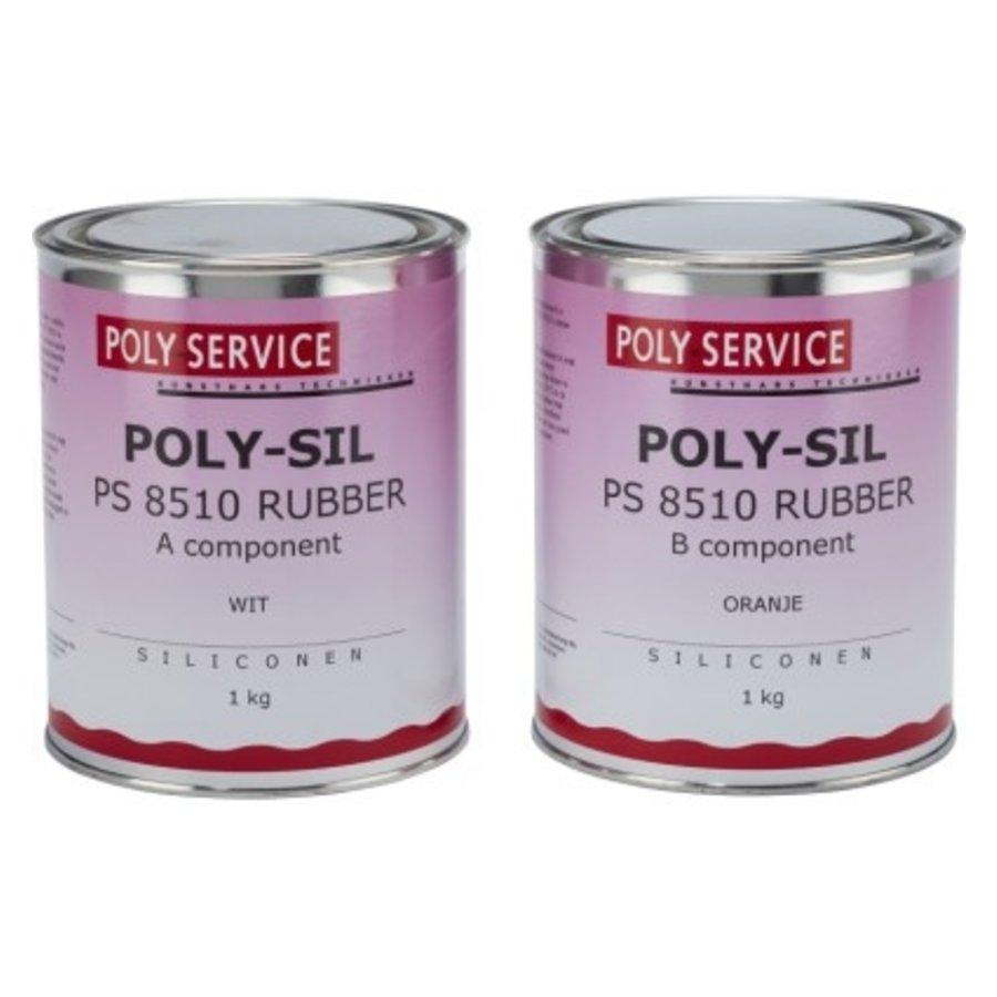 PS8510 set siliconen rubber-1