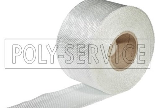 Polyservice Glasweefselband op rol 260 gr/m²