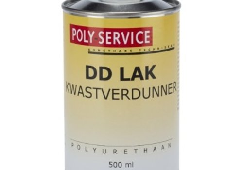 Polyservice DD lak kwastverdunning 500ML