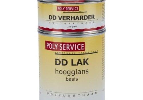 Polyservice DD LAK 750ml set speciaal kleur