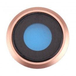 iPhone 8 camera glas – Rosé-Goud