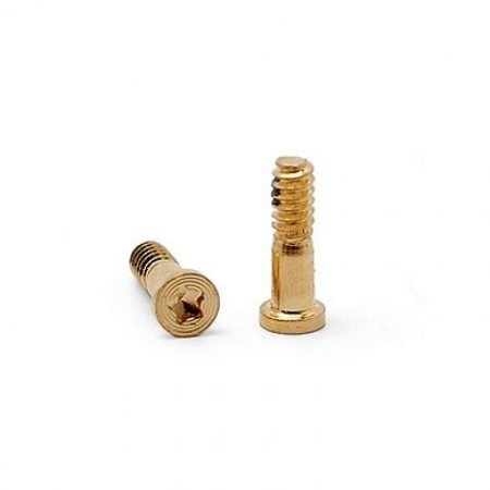 Apple iPhone 6/6 Plus bottom screws - Gold (per 10 pieces)