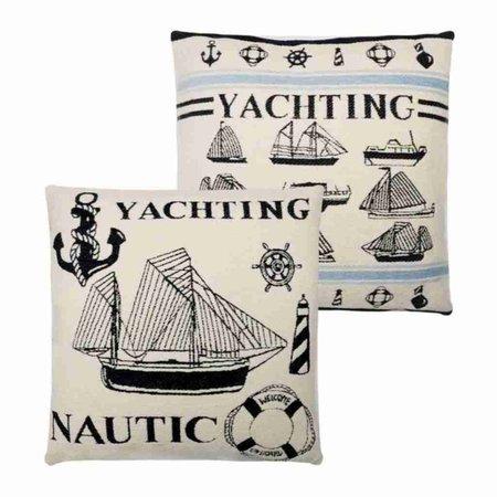 - Nautische Kussens Yachting - Per set