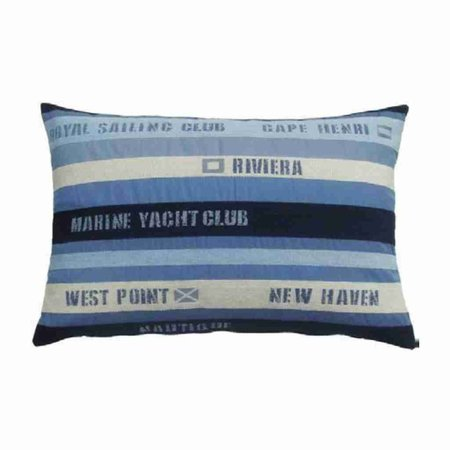 - Nautisch Kussen Royal Sailing Club Blue