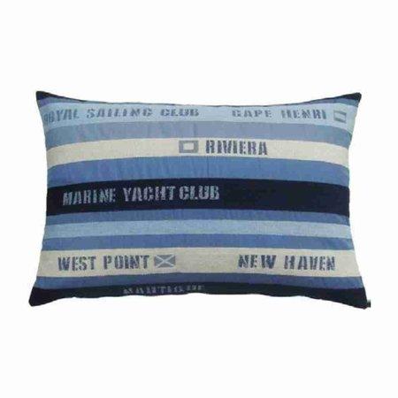 - Nautisch Kussen Royal Sailing Club Blue