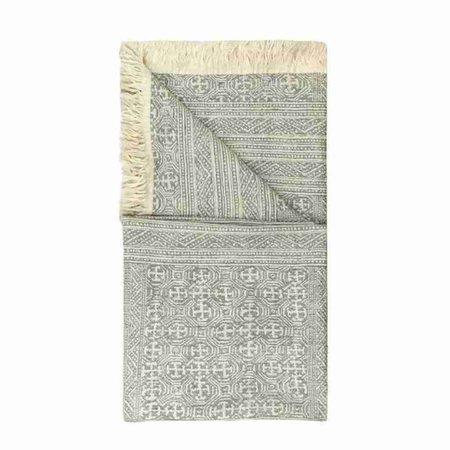 - Limbani - Plaid - Grey - 140 x 200 cm