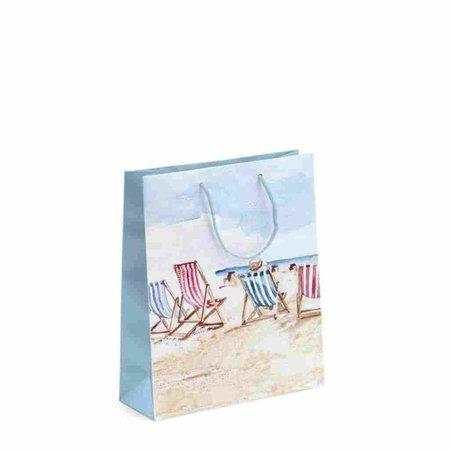 Geschenktas - Strandstoelen - Medium