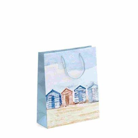 Geschenktas - Strandhuisjes - Medium