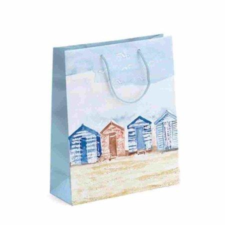 Geschenktas - Strandhuisjes - Large