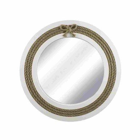 Spiegel - Frame Décor met touw - Ø 40 cm