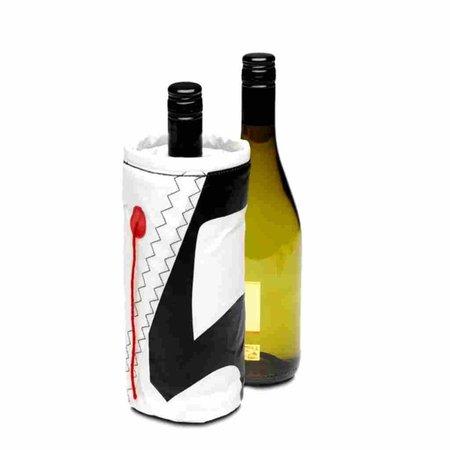 - Wijnkoeler - Wit/Zwart