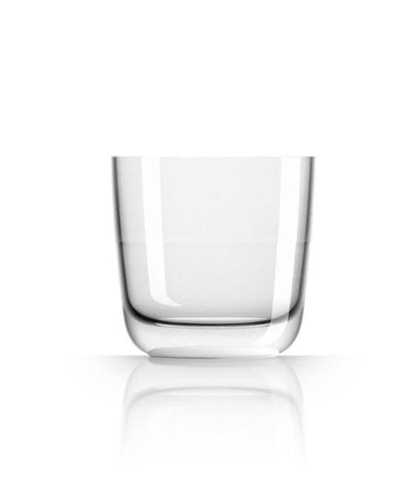 - Whiskeyglas - Wit - Ø 8,2 cm