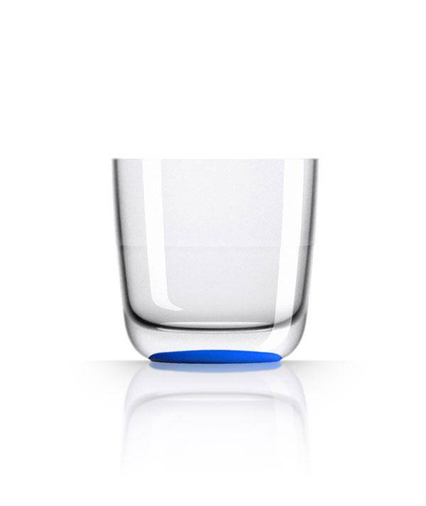 - Whiskeyglas - Navy  - Ø 8,2 cm