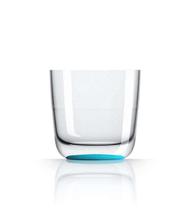 - Whiskeyglas - Aqua - Ø 8,2 cm