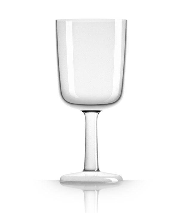 - Wijnglas - Wit - Ø 6,5 cm