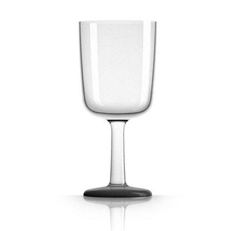 - Wijnglas - Zwart