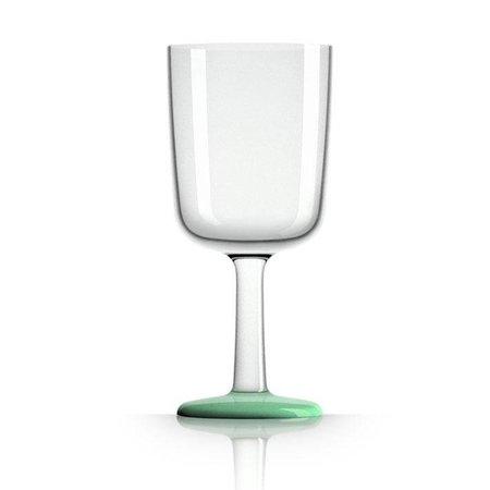 - Wijnglas - Groen - Glow in the Dark