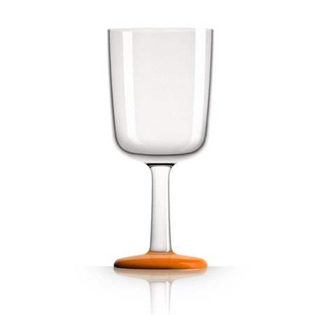 - Wijnglas - Oranje