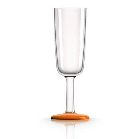 - Champagneglas - Oranje