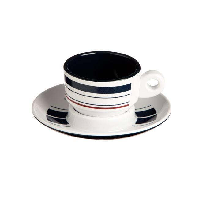 MONACO - Espressokop & -schotel
