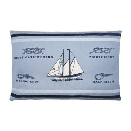 - Nautisch Kussen Sailing Blue