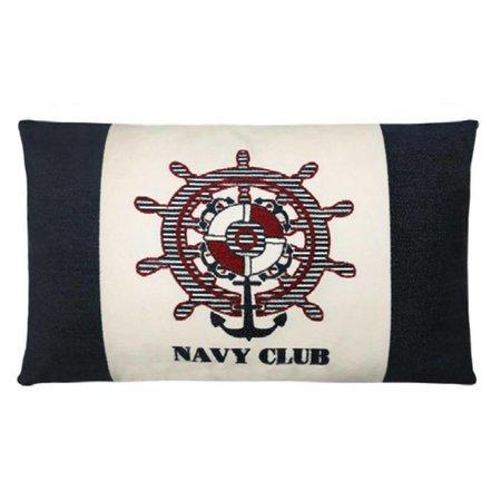 - Nautisch Kussen Navy Club