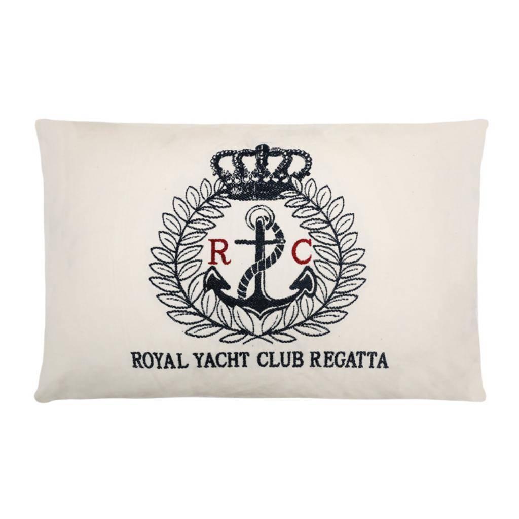- Nautisch Kussen Royal Yacht Club - 45 x 5 cm