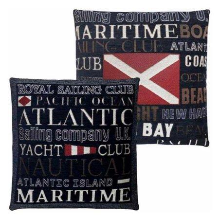 - Nautische Kussens Atlantic Blue - Set/2