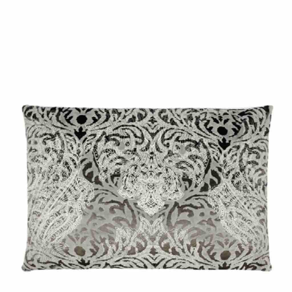 - Estelle - Kussen - Grey/Silver - 45 x 65 cm