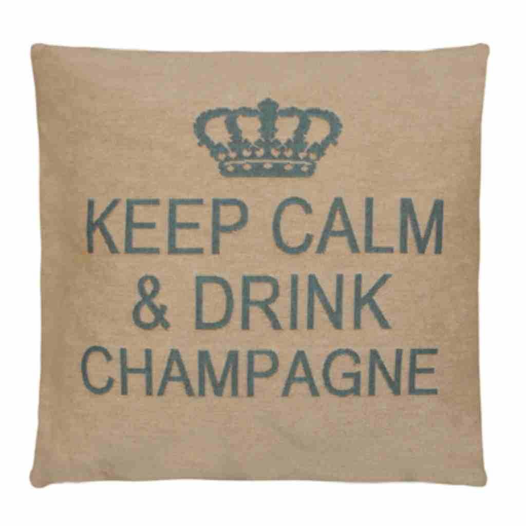 - Keep Calm - Champagne - Aqua