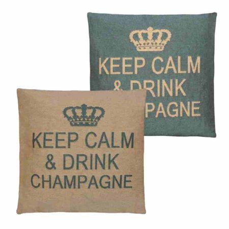 - Keep Calm - Champagne - Aqua