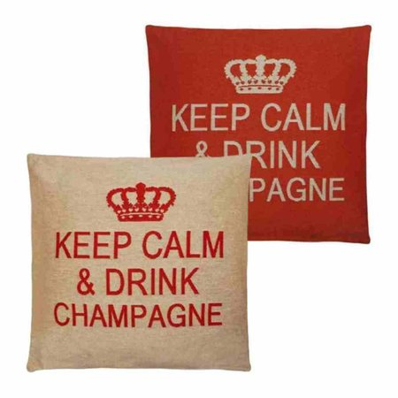 - Keep Calm - Champagne - Orange - Set van 2