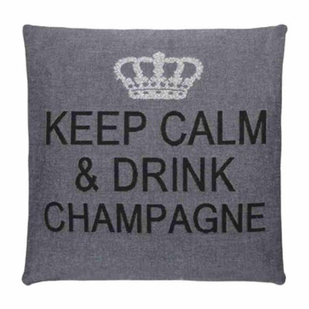 - Keep Calm - Champagne - Antraciet Silver