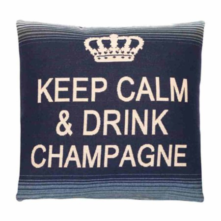 - Keep Calm - Champagne - Blue