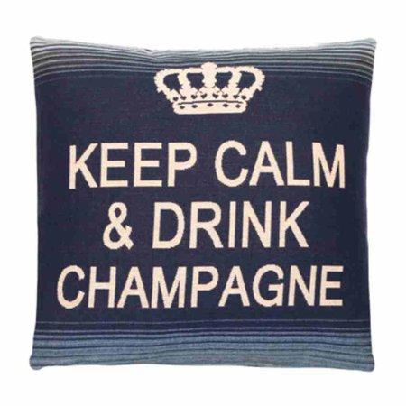 - Keep Calm - Champagne - Blue