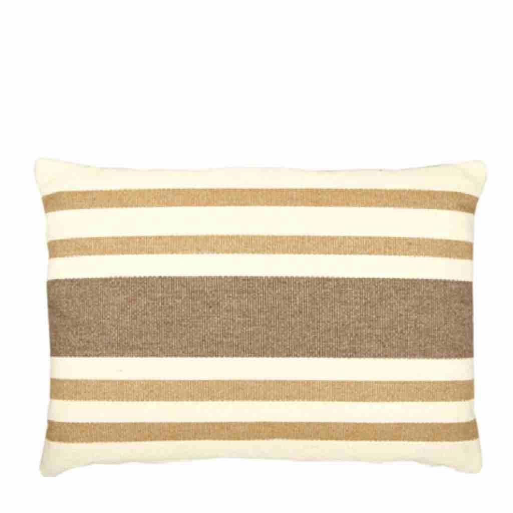 - Basic Stripe - Kussen -Beige - 45 x 65 cm