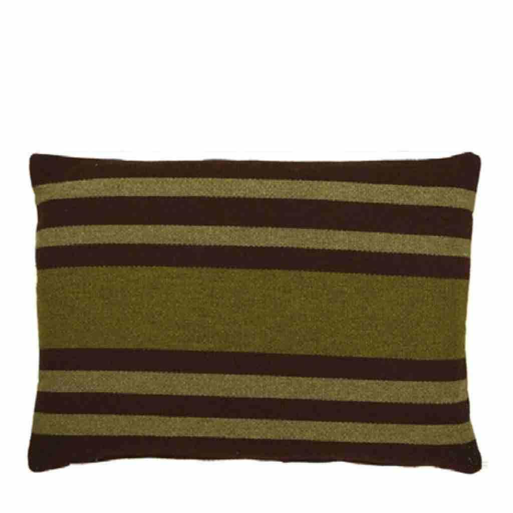 - Basic Stripe - Kussen - Green - 45 x 65 cm