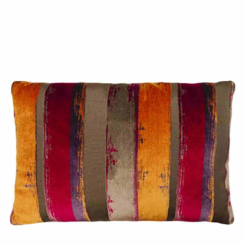 - Brunelli - Kussen - Stripe - Orange - 45 x 65 cm