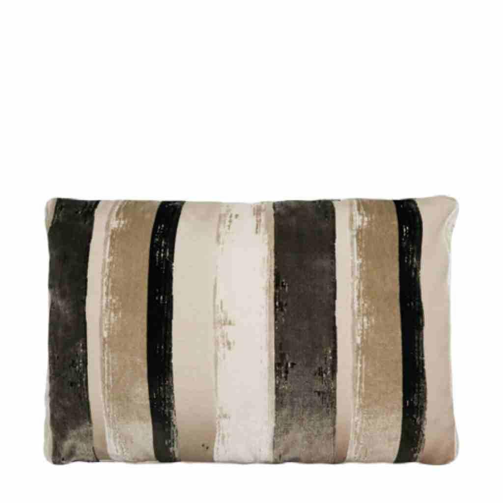 - Brunelli - Kussen - Stripe - Beige - 45 x 65 cm