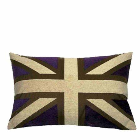 - Union Jack - Kussen - Purple