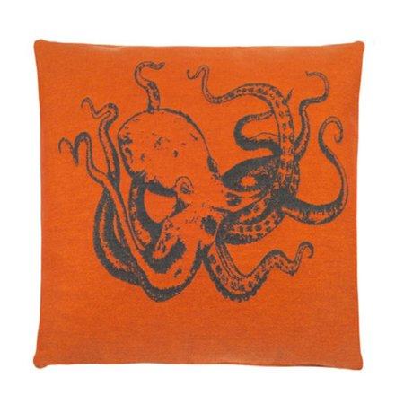 - Zeedieren - Orange - Octopus - Set van 3