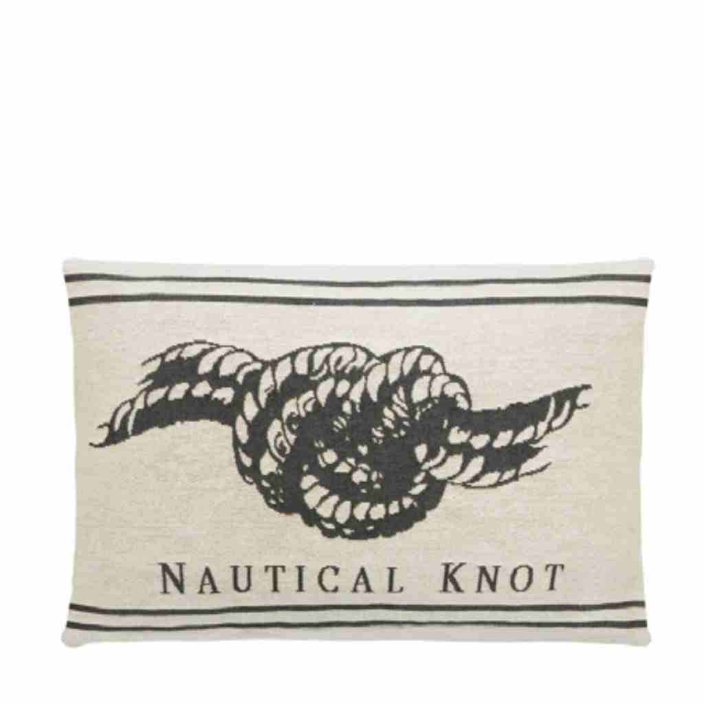 - Nauticals Kussens - Grey - Set van 4 - 33 x 45 cm