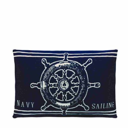 - Nauticals Kussens - Dark Navy - Set van 4