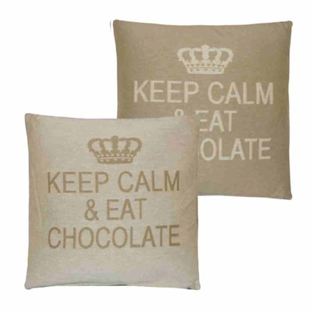 - Keep Calm - Chocolate - Sand - Set van 2