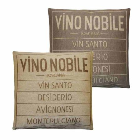 - Vino Nobile - Kussen -  Sand - Set van 2