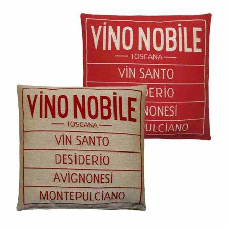 - Vino Nobile - Kussen - Red - Set van 2