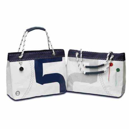 - Sea Wave - Boodschappentas met handvatten van Touw