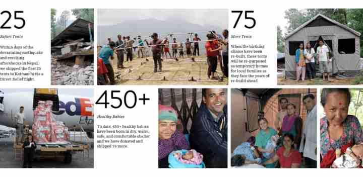 Barebones tassen - steunt het goede doel in nepal